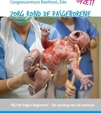 Introductie Newborn Life Support leermodule op Symposium Zorg rond de Pasgeborene