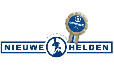 Nieuwe Helden Award 2015 nominatie VirtualMedSchool